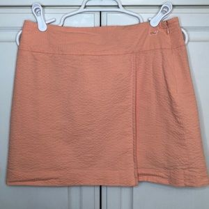 Vineyard Vines Peach Colored Wrap Skirt